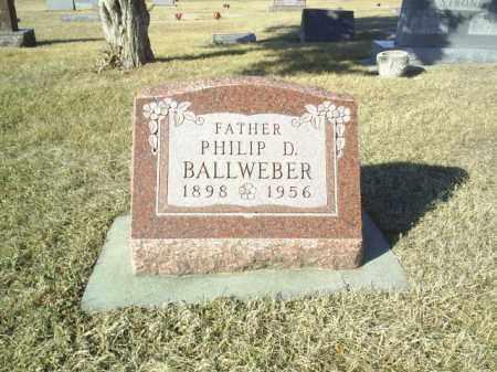 BALLWEBER, PHILIP - Madison County, Nebraska | PHILIP BALLWEBER - Nebraska Gravestone Photos
