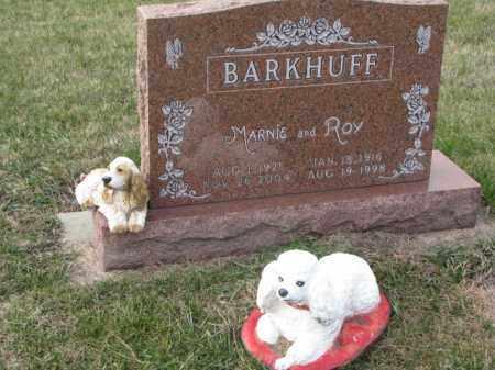 BARKHUFF, ROY - Madison County, Nebraska   ROY BARKHUFF - Nebraska Gravestone Photos