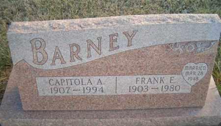 BARNEY, CAPITOLA A - Madison County, Nebraska | CAPITOLA A BARNEY - Nebraska Gravestone Photos