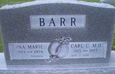 BARR, INA MARIE - Madison County, Nebraska | INA MARIE BARR - Nebraska Gravestone Photos