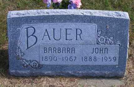 BAUER, JOHN - Madison County, Nebraska | JOHN BAUER - Nebraska Gravestone Photos