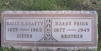 FRINK BEATTY, DAISY F - Madison County, Nebraska | DAISY F FRINK BEATTY - Nebraska Gravestone Photos