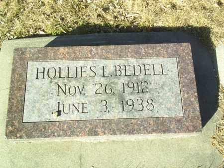 BEDELL, HOLLIES - Madison County, Nebraska | HOLLIES BEDELL - Nebraska Gravestone Photos