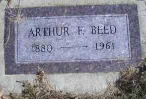 BEED, ARTHUR F - Madison County, Nebraska   ARTHUR F BEED - Nebraska Gravestone Photos