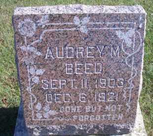 BEED, AUDREY M - Madison County, Nebraska   AUDREY M BEED - Nebraska Gravestone Photos
