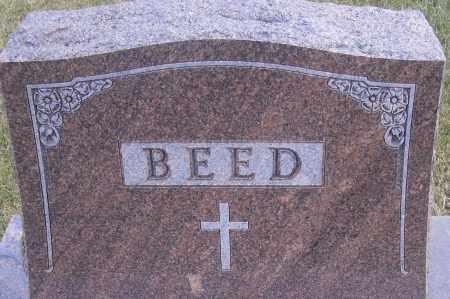 BEED, FAMILY HEADSTONE - Madison County, Nebraska | FAMILY HEADSTONE BEED - Nebraska Gravestone Photos
