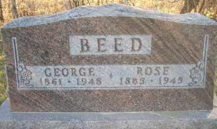 BEED, ROSE - Madison County, Nebraska | ROSE BEED - Nebraska Gravestone Photos