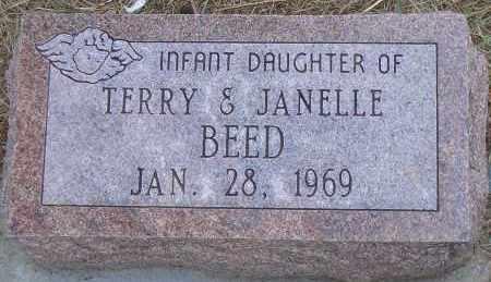 BEED, INFANT DAUGHTER - Madison County, Nebraska   INFANT DAUGHTER BEED - Nebraska Gravestone Photos
