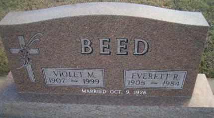 BEED, EVERETT R - Madison County, Nebraska   EVERETT R BEED - Nebraska Gravestone Photos