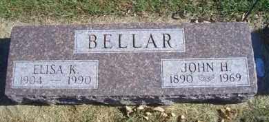 BELLAR, ELSIA K - Madison County, Nebraska   ELSIA K BELLAR - Nebraska Gravestone Photos