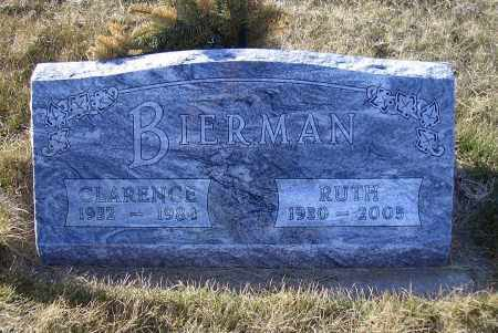 BIERMAN, CLARENCE - Madison County, Nebraska | CLARENCE BIERMAN - Nebraska Gravestone Photos