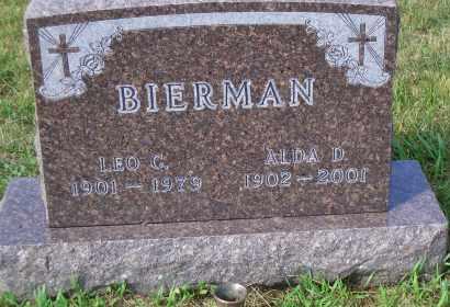 BIERMAN, ALDA D. - Madison County, Nebraska | ALDA D. BIERMAN - Nebraska Gravestone Photos