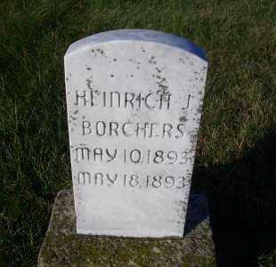 BORCHERS, HEINRICH J. - Madison County, Nebraska | HEINRICH J. BORCHERS - Nebraska Gravestone Photos