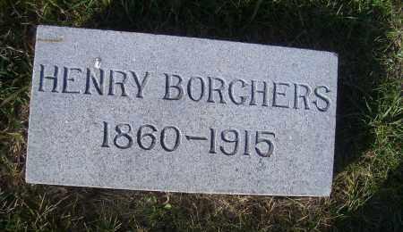 BORCHERS, HENRY - Madison County, Nebraska | HENRY BORCHERS - Nebraska Gravestone Photos