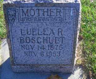 BOSCHULT, LUELLA R - Madison County, Nebraska | LUELLA R BOSCHULT - Nebraska Gravestone Photos