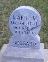 BOSSARD, MARIE M - Madison County, Nebraska   MARIE M BOSSARD - Nebraska Gravestone Photos