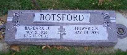 LOCKE BOTSFORD, BARBARA J. - Madison County, Nebraska | BARBARA J. LOCKE BOTSFORD - Nebraska Gravestone Photos