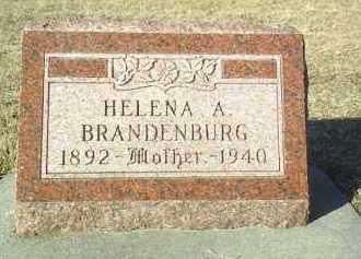 BRANDENBURG, HELENA - Madison County, Nebraska | HELENA BRANDENBURG - Nebraska Gravestone Photos