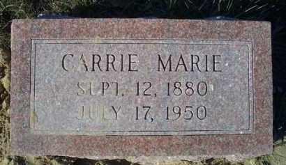 BRANDT, CARRIE MARIE - Madison County, Nebraska | CARRIE MARIE BRANDT - Nebraska Gravestone Photos