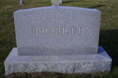 BRECHLER, FAMILY HEADSTONE - Madison County, Nebraska | FAMILY HEADSTONE BRECHLER - Nebraska Gravestone Photos