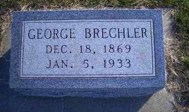 BRECHLER, GEORGE - Madison County, Nebraska | GEORGE BRECHLER - Nebraska Gravestone Photos