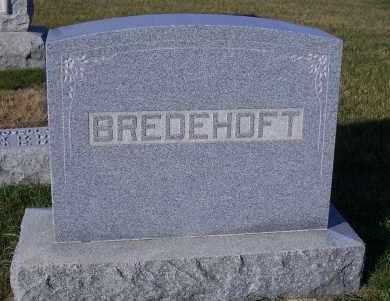 BREDEHOFT, FAMILY HEADSTONE - Madison County, Nebraska   FAMILY HEADSTONE BREDEHOFT - Nebraska Gravestone Photos