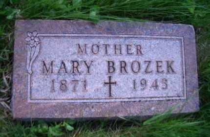 BROZEK, MARY - Madison County, Nebraska | MARY BROZEK - Nebraska Gravestone Photos