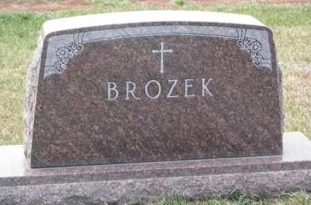 BROZEK, PLOT - Madison County, Nebraska | PLOT BROZEK - Nebraska Gravestone Photos