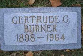 IVES BURNER, GERTRUDE G - Madison County, Nebraska   GERTRUDE G IVES BURNER - Nebraska Gravestone Photos