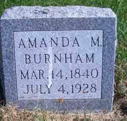 BURNHAM, AMANDA M - Madison County, Nebraska | AMANDA M BURNHAM - Nebraska Gravestone Photos