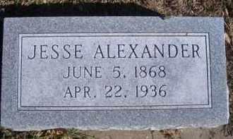 CARLISLE, JESSE ALEXANDER - Madison County, Nebraska | JESSE ALEXANDER CARLISLE - Nebraska Gravestone Photos