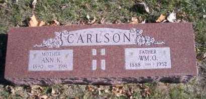 CARLSON, ANN K - Madison County, Nebraska | ANN K CARLSON - Nebraska Gravestone Photos