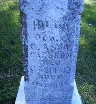 CARLSON, HILDA - Madison County, Nebraska | HILDA CARLSON - Nebraska Gravestone Photos
