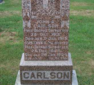 CARLSON, GUSTAVA L. - Madison County, Nebraska | GUSTAVA L. CARLSON - Nebraska Gravestone Photos