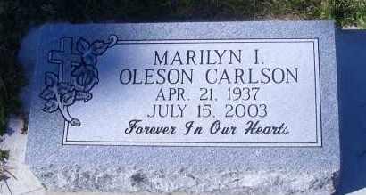 CARLSON, MARILYN I. - Madison County, Nebraska | MARILYN I. CARLSON - Nebraska Gravestone Photos