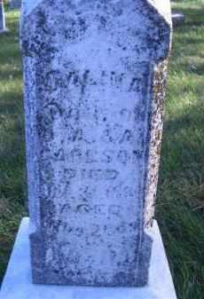 CARLSON, SALINA - Madison County, Nebraska | SALINA CARLSON - Nebraska Gravestone Photos