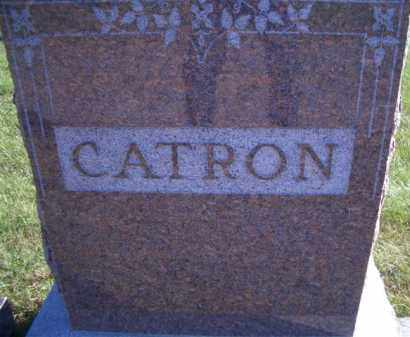 CATRON, FAMILY HEADSTONE - Madison County, Nebraska | FAMILY HEADSTONE CATRON - Nebraska Gravestone Photos