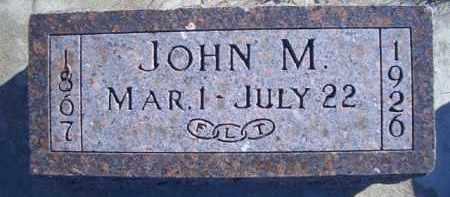 CATRON, JOHN M - Madison County, Nebraska | JOHN M CATRON - Nebraska Gravestone Photos