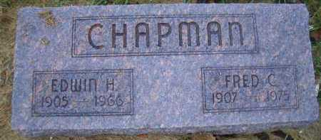 CHAPMAN, EDWIN H - Madison County, Nebraska | EDWIN H CHAPMAN - Nebraska Gravestone Photos