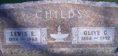 CHILDS, OLIOVE G - Madison County, Nebraska | OLIOVE G CHILDS - Nebraska Gravestone Photos