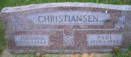 CHRISTENSEN, JOHANNA - Madison County, Nebraska | JOHANNA CHRISTENSEN - Nebraska Gravestone Photos