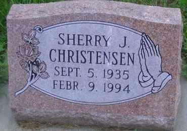 CHRISTENSEN, SHERRY J - Madison County, Nebraska | SHERRY J CHRISTENSEN - Nebraska Gravestone Photos