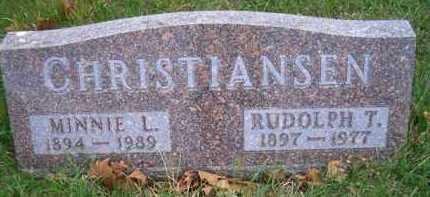 HANSEN CHRISTIANSEN, MINNIE L - Madison County, Nebraska | MINNIE L HANSEN CHRISTIANSEN - Nebraska Gravestone Photos