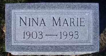 BOTSFORD CLARK, NINA MARIE - Madison County, Nebraska | NINA MARIE BOTSFORD CLARK - Nebraska Gravestone Photos