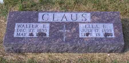 WEKMEISTERR CLAUSE, ELLA E. - Madison County, Nebraska | ELLA E. WEKMEISTERR CLAUSE - Nebraska Gravestone Photos