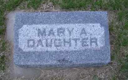 CLINCH, MARY A. - Madison County, Nebraska | MARY A. CLINCH - Nebraska Gravestone Photos