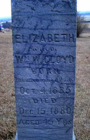 CRAIG CLOYD, ELIZABETH - Madison County, Nebraska | ELIZABETH CRAIG CLOYD - Nebraska Gravestone Photos
