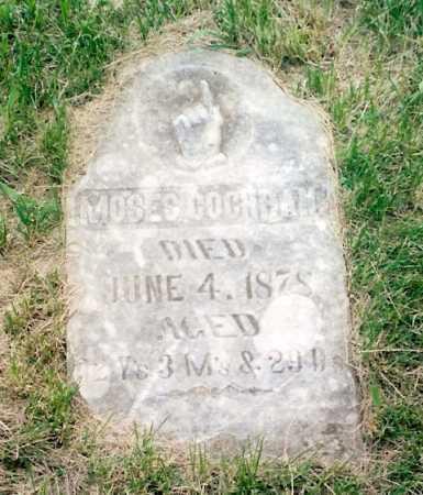 COCHRAN, MOSES - Madison County, Nebraska   MOSES COCHRAN - Nebraska Gravestone Photos