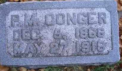 CONGER, P M - Madison County, Nebraska   P M CONGER - Nebraska Gravestone Photos