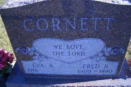 CORNETT, EVA A. - Madison County, Nebraska | EVA A. CORNETT - Nebraska Gravestone Photos